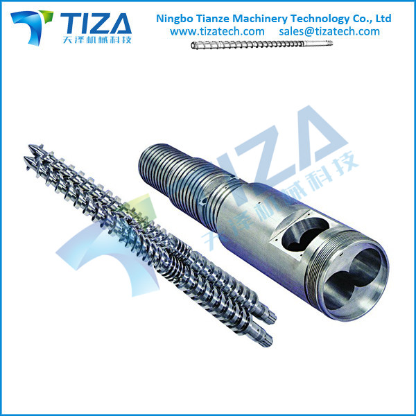 Conical Twin Screw and barrel for Plastic Machine