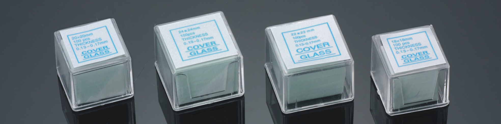 microscope cover glass economy grade