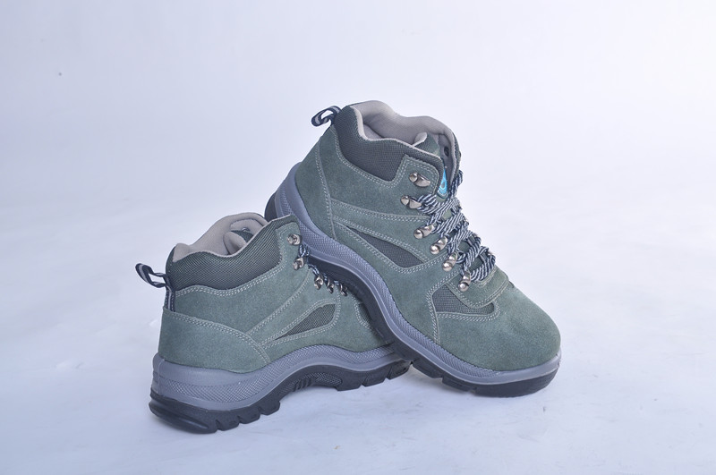 brand name lightweight safety shoes WITH suede leather