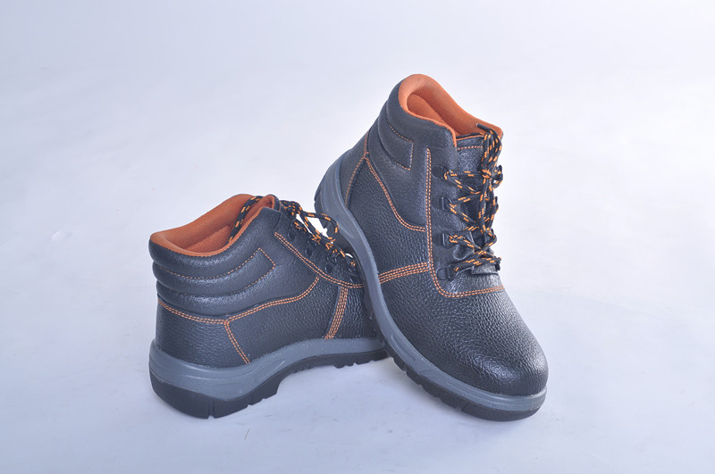 PU injection cheap steel toe safety boot,fire resistant safety boots