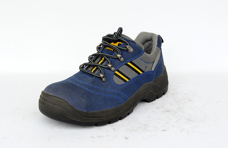 CE EN20345 suede leather low cut safety working shoes