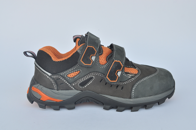summer safety shoes steel toe factory (WXRB-015)
