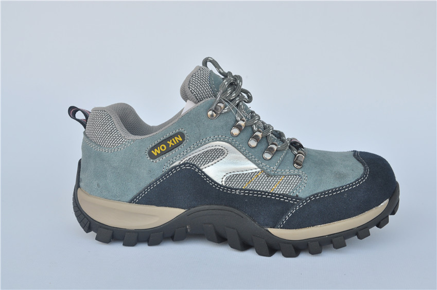 suede leather industrial labor shoes standard steel toe safety protection
