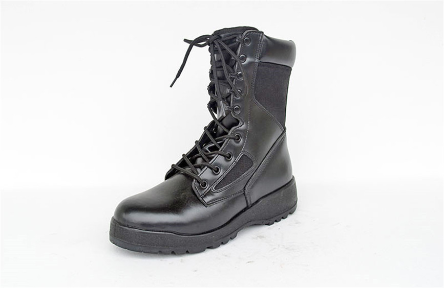 Army boots Nepal boots black genuine leather tactical boots