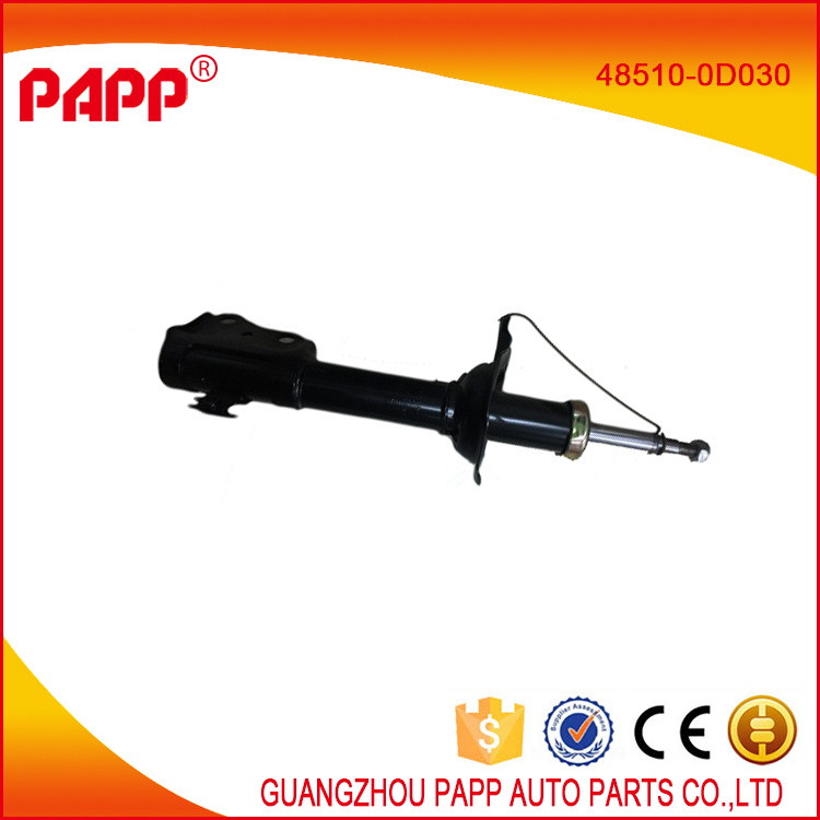car spare parts toyota vios front shock absorber oem 48510-0D030