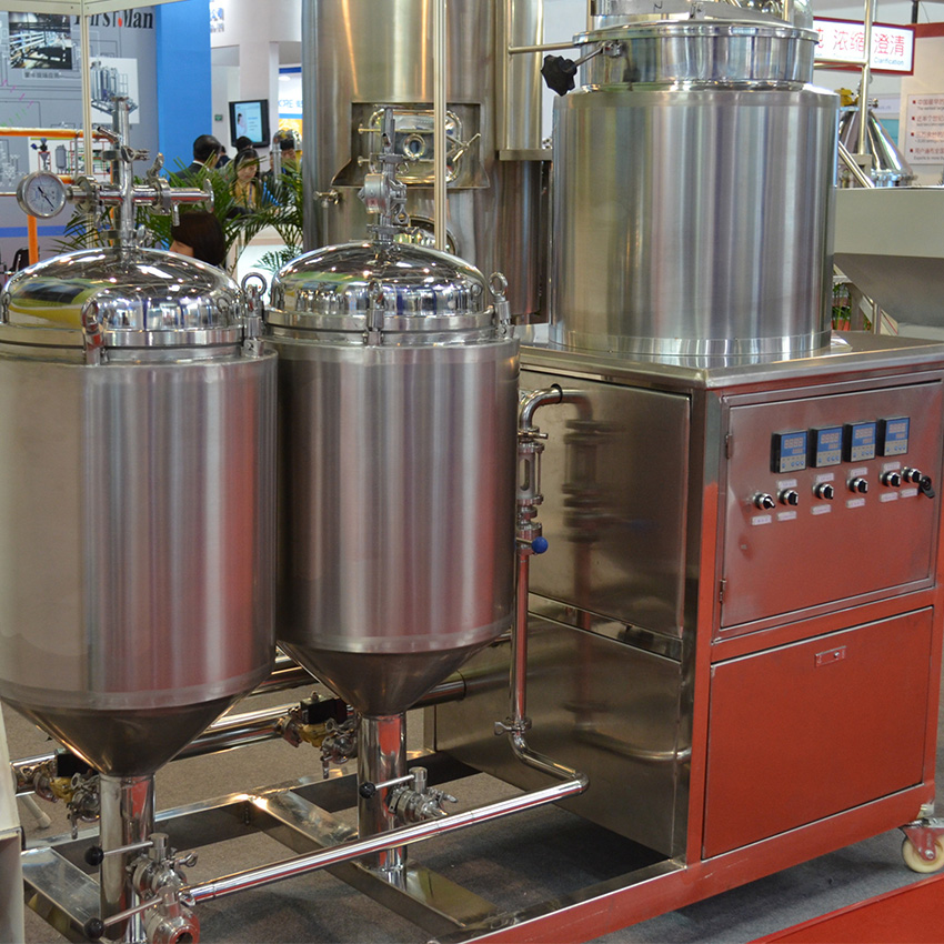 50/100L pilot brewing equipment for laboratory and home beer brewing
