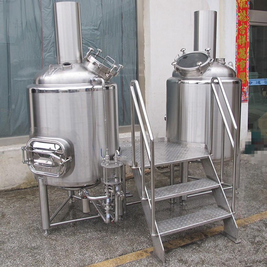 500L micro beer brewing equipment for bar and restaurant