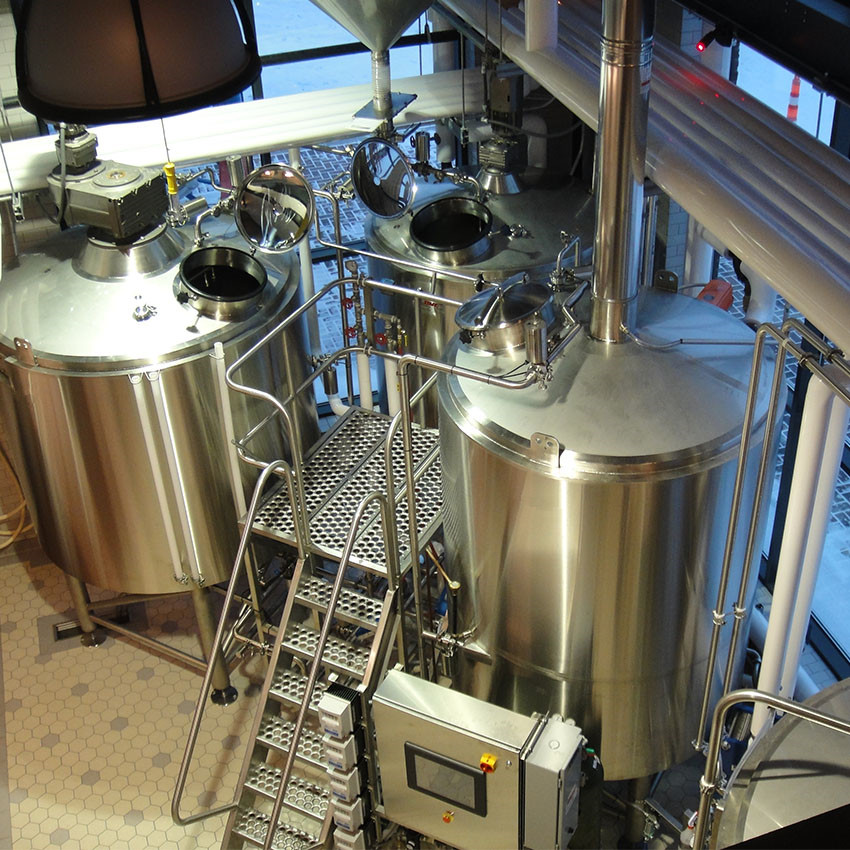 25hl/3000L industrial beer brewing equipment for micro industrial beer factory