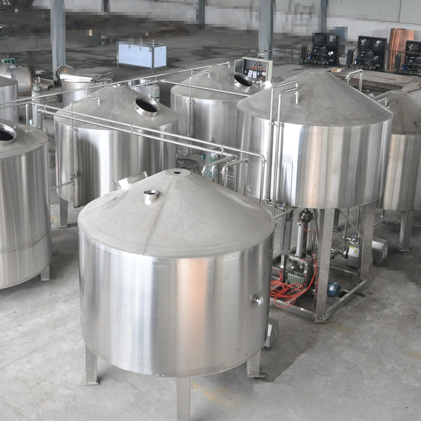 50hl/80hl complete beer brewing equipment for craft beer factory