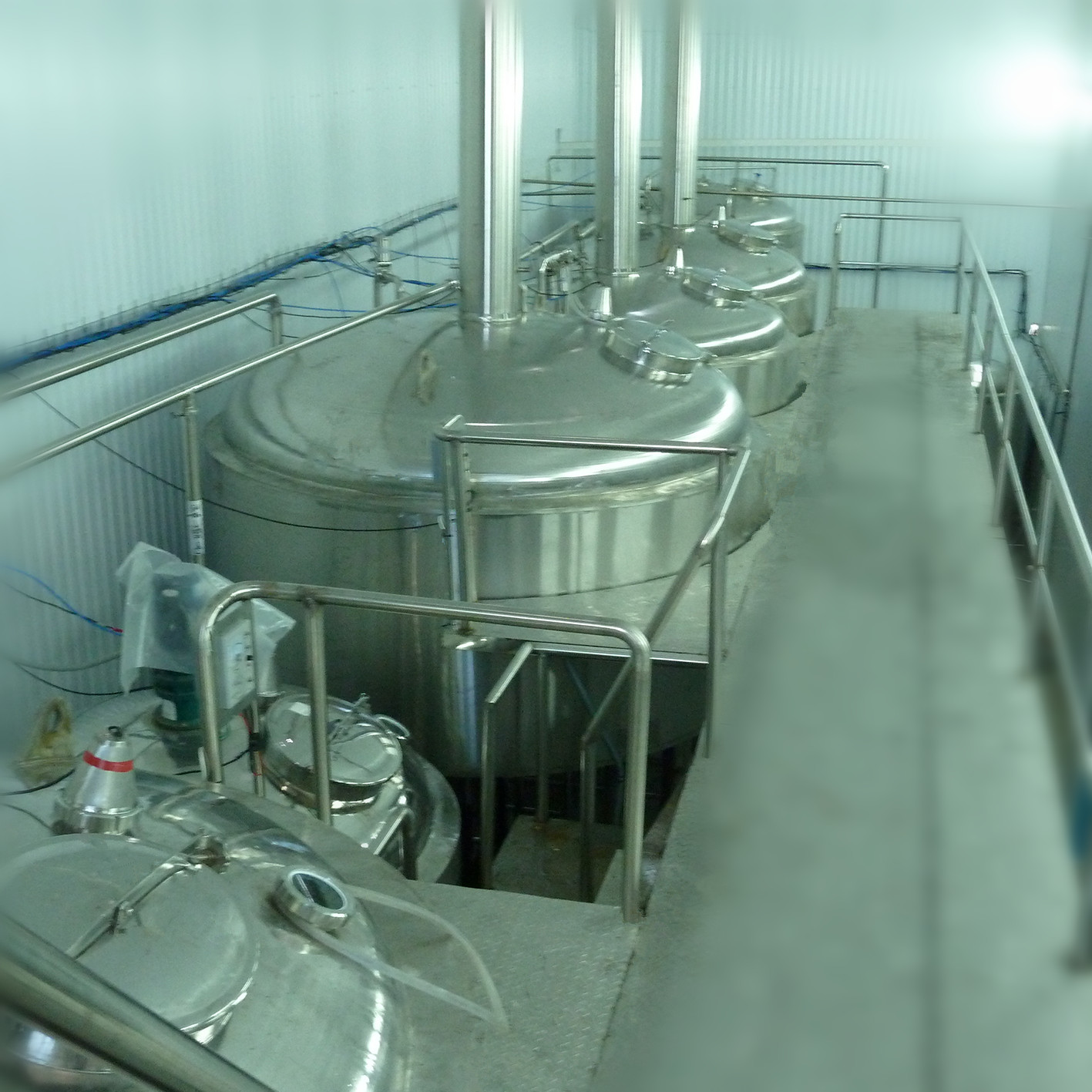 500L industrial beer brewing equipment for micro brewery factory