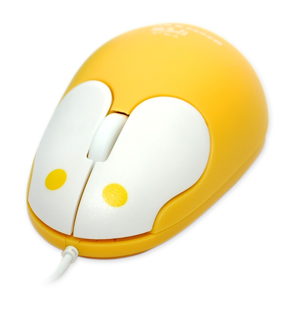 Mouse and Cheese Wired optical mouse