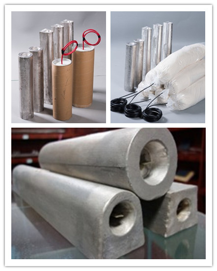Prepackaged Cathodic Protection Magnesium/Mg Anode Manufacturers and Suppliers