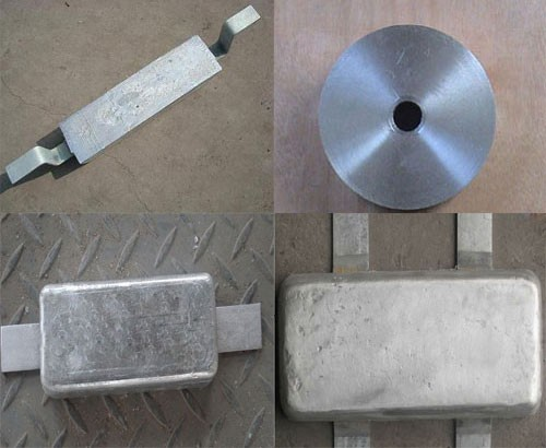Aluminum Anode For Seawater And Offshore Structures/Pier and Piling Manufacturers