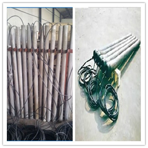 China OEM High Silicon Cast Iron Solid  Rod/Stick Anode manufacturers