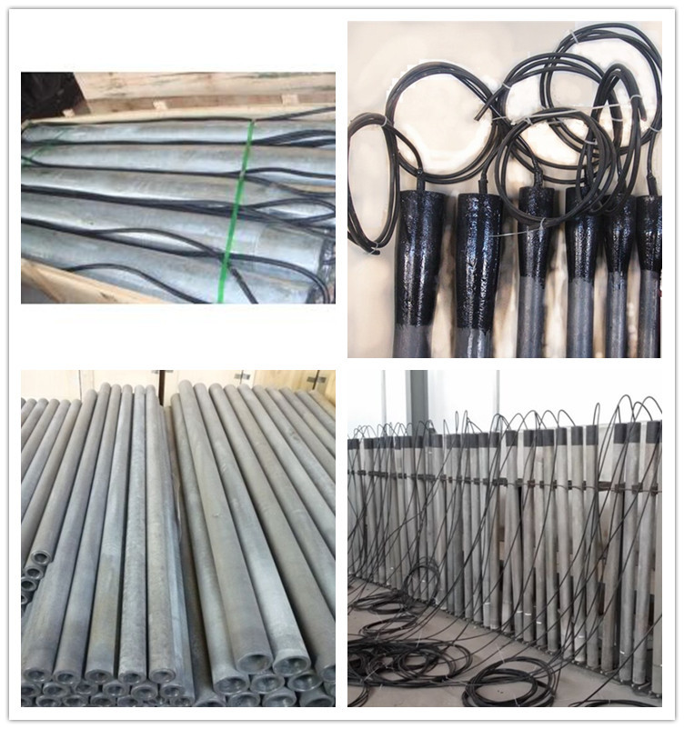 China OEM High Silicon Cast/HSCI Iron Tubular/Stick Anode  Manufacturers