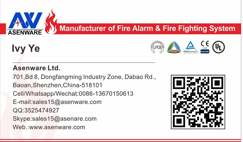 AW-AFP2189 Addressable Fire Alarm Control Panel