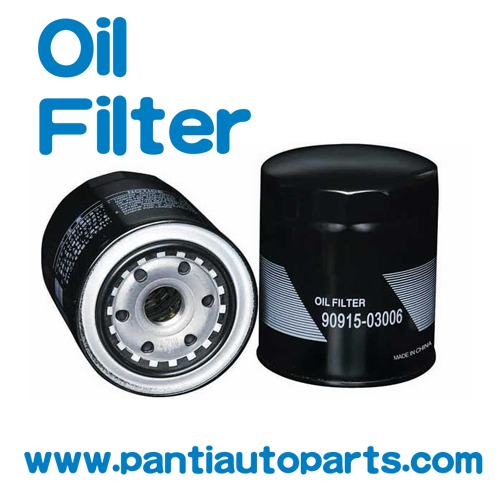high quality auto car oil filter For Toyota parts