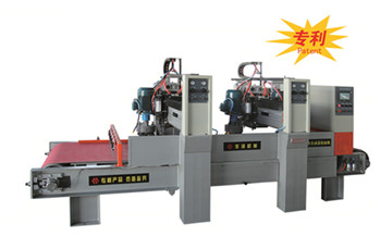 LMJ-Q4-1000 Four heads automatic Bush Hammering and Antiquing Machine