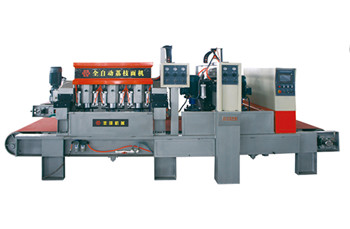 LMJ-Q5-1000 Five Heads Full-automatic Bush Hammering Machine suppliers