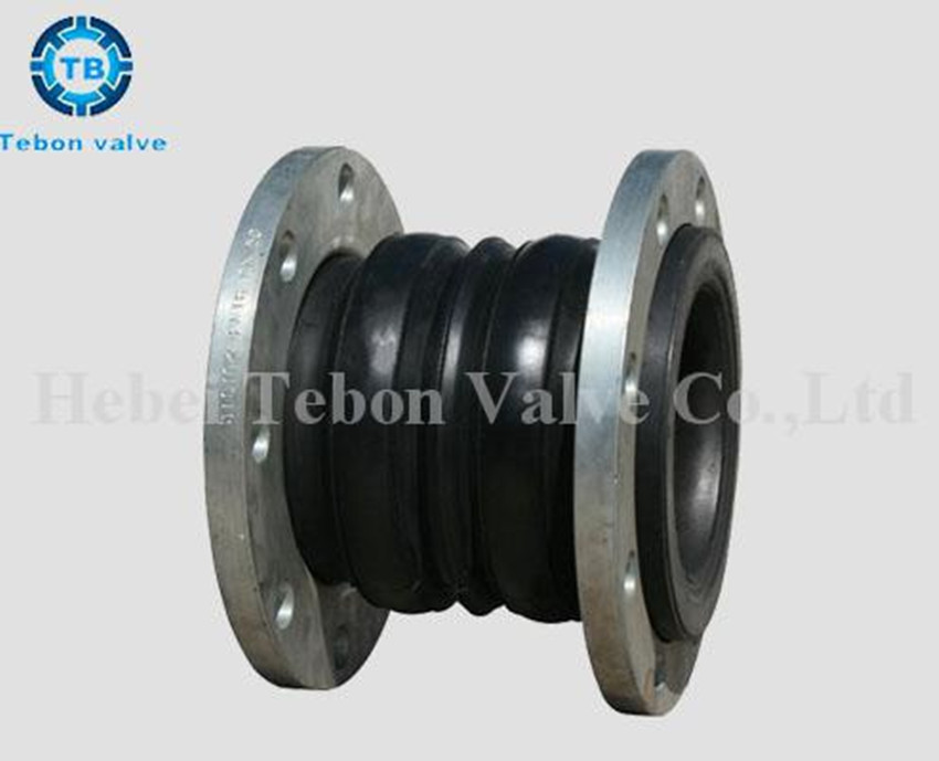 flanged rubber expansion flexible joints compensator  DN2 DN3 DN4