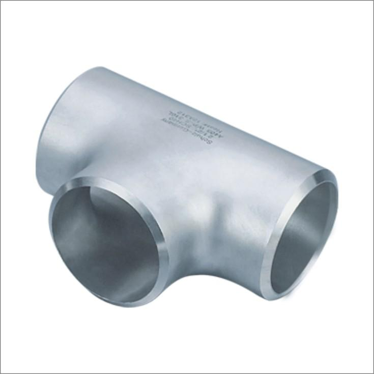 316 stainless steel,butt weld tee pipe fitting