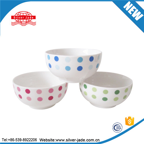 fine Ceramic soup bowl with cut edge and double GGK
