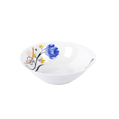 fine Porcelain and Ceramic square bowl with beautiful decal design