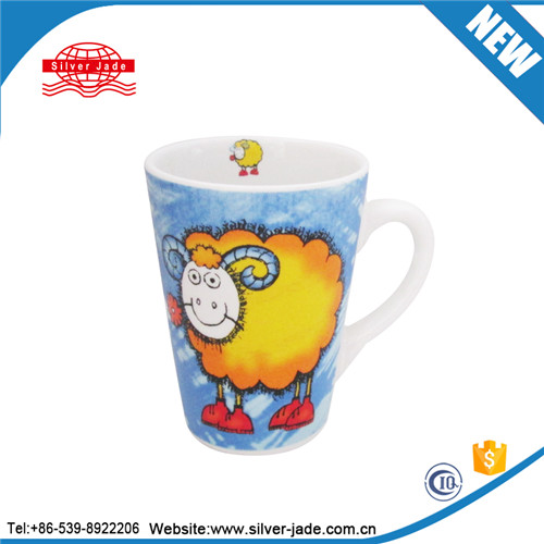 sublimation coffee mugs for South America market with full decal