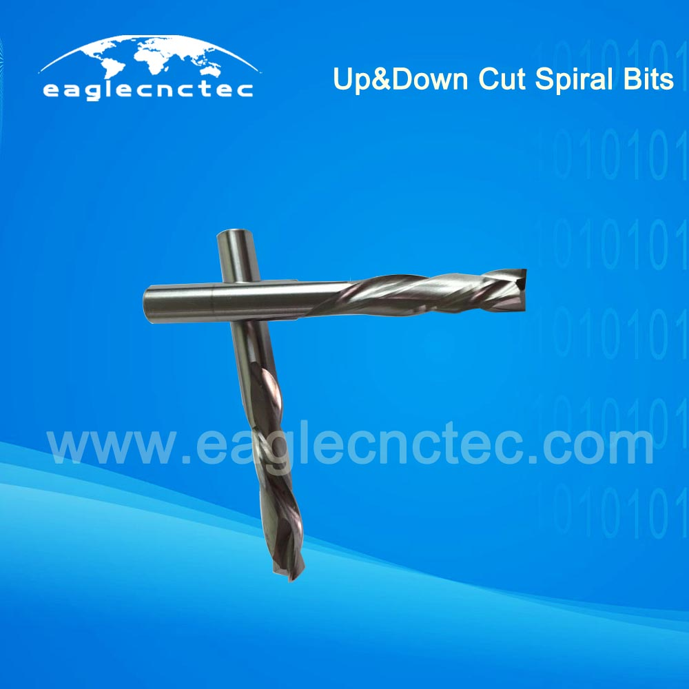 Spiral Cut Compression Cutter Router Bit