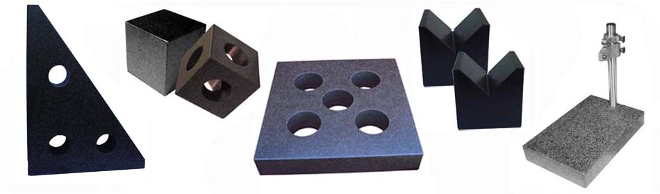 Granite V-shaped Block precision inspection tools