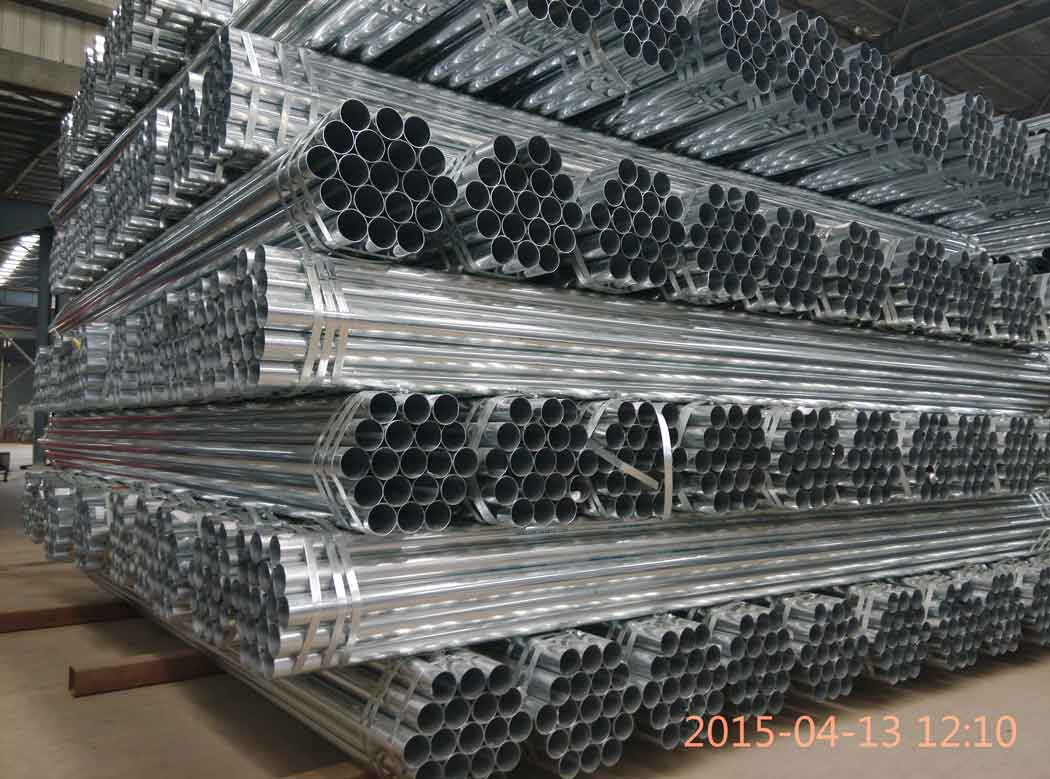 galvanized pipe 20 ft in China dongpengboda