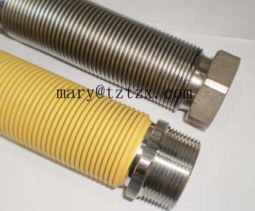 flexible metal stainless steel gas pipe