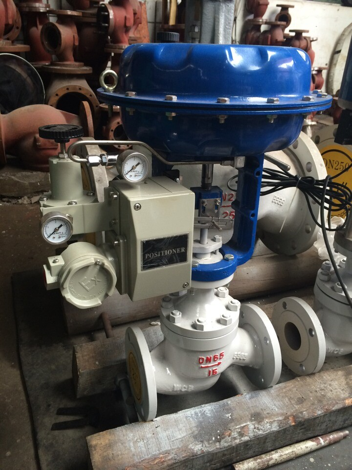 Low cost Motorized  Pneumatic diaphragm control valve