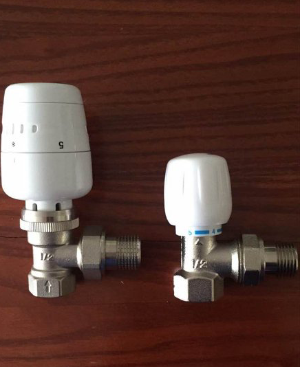 Thermostatic radiator valve and temperature control valve automatic