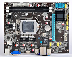 3 years warranty Integrated Graphics Prosessor lga1155 H61 desktop computer motherboard