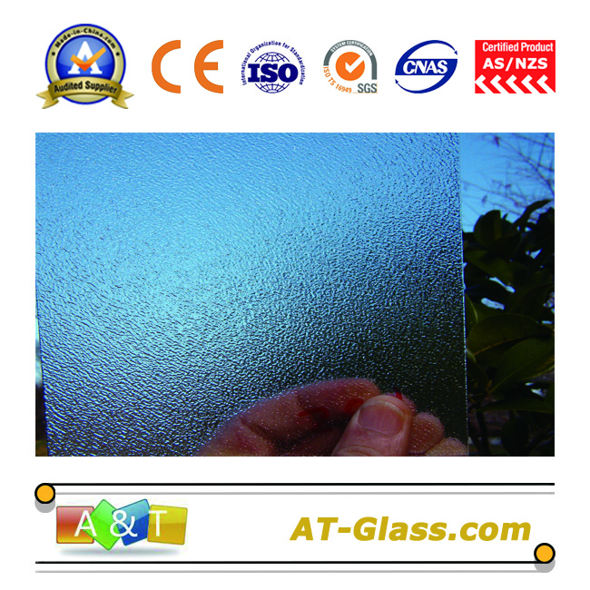 4 6 8mm Clear Nashiji  Patterned Glass for window furniture door