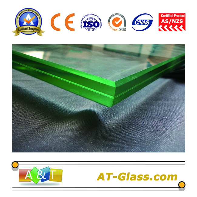 6.38mm Laminated glass insulation glass Soundproof glass Radiant glass  Safety glass