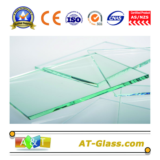 1.1-25mm Clear float glass used for windows Furnitures mirrors