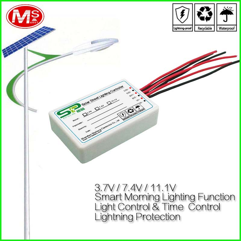 12V Solar Charge Controller - MPPT & PWM Controller