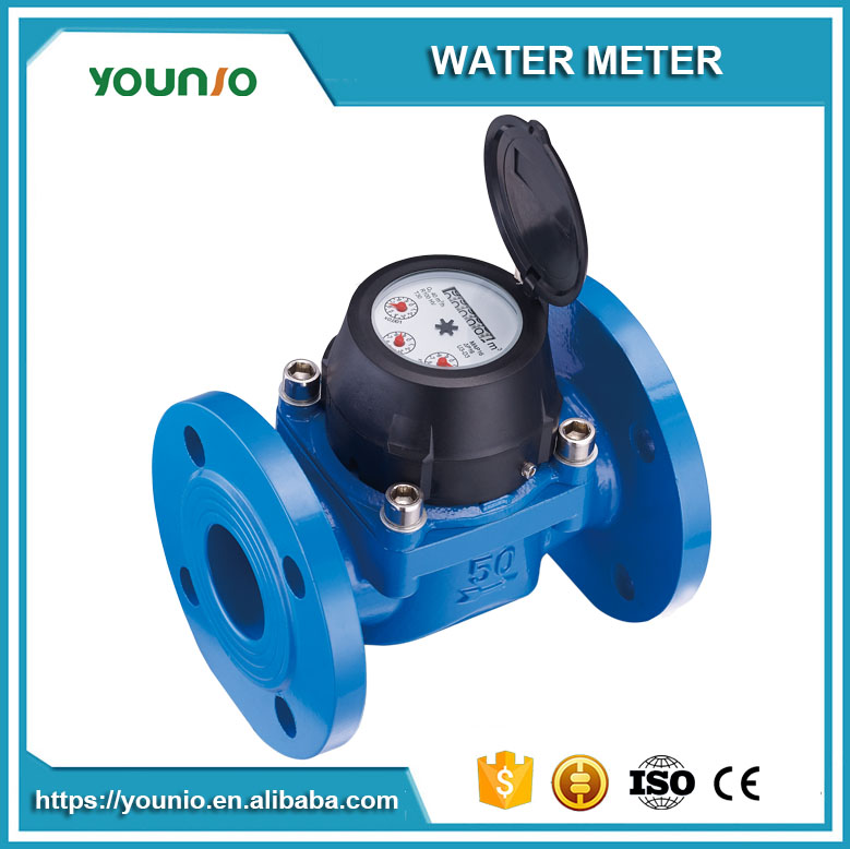 Younio Removable Element Woltman Type Water Meter for Industrial Use