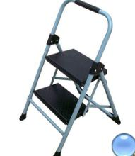 home daily use/house hold foldable steel stool ladder with hand grip and 2 plastic steps