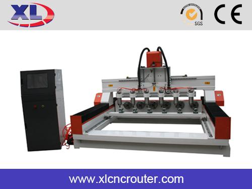 jinan 3 axis 4 axis cylindrical wood engraving cnc routers machine made in China