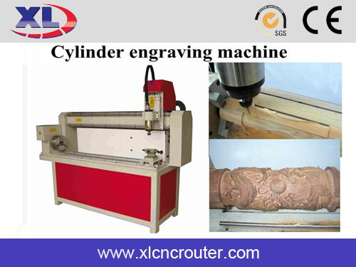 XL1200 One Head Cylinder wood engraving cnc routers Machines