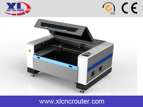 XL1390N MDF gift acrylic CO2 laser cutting engraver cylinder bamboo wood engraving machine