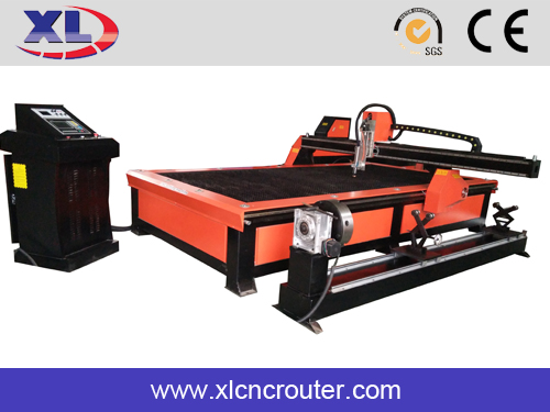 Tayor CNC Pipe Profile metal Plasma Cutting Machine