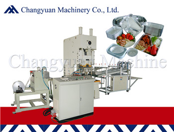 45T Fully Automatic Aluminium Foil Container  Making Machine