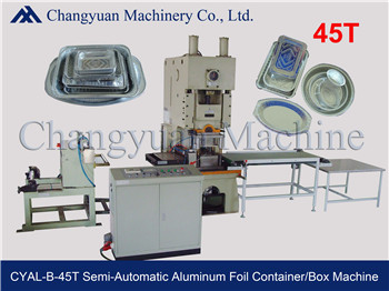Semi Automatic Aluminum Foil Container Production line