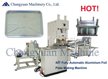 63T Fully Automatic Aluminium Foil Container Production Line