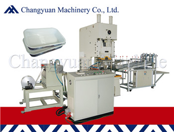 Airline Aluminum Foil Container Making Machine