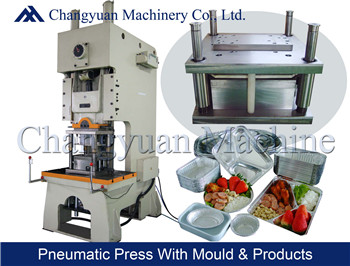 45T Aluminium Foil  Container Press Machine